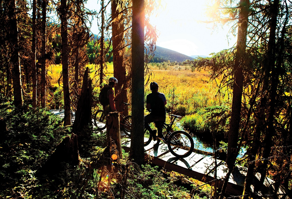 People with an adventurous spirit are drawn to Wells for hiking and biking. Photo: Thomas Drasdauskis