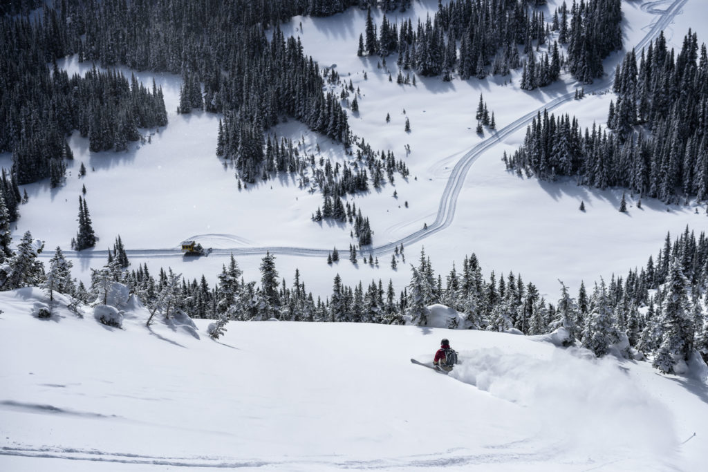 Just glimpse at some of the terrain at Skeena Cat Skiing.