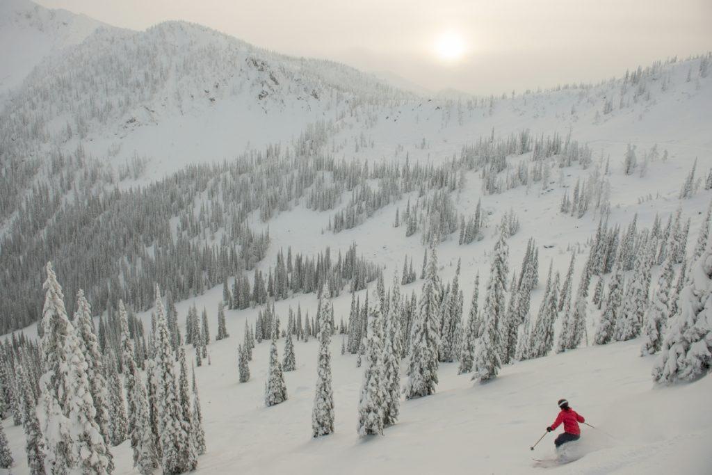 Skiing at Whitewater Ski Resort.