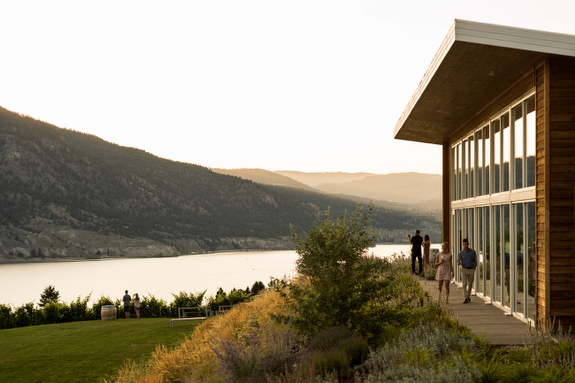 Award-winning winery Poplar Grove in Penticton..