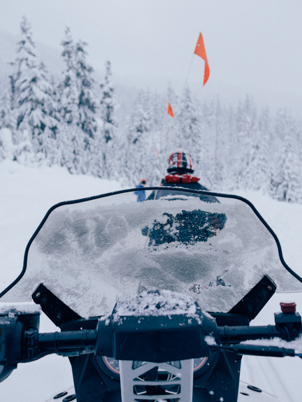 The Yukon Breakfast Snowmobile Tour with Canadian Wilderness Adventures in Whistler