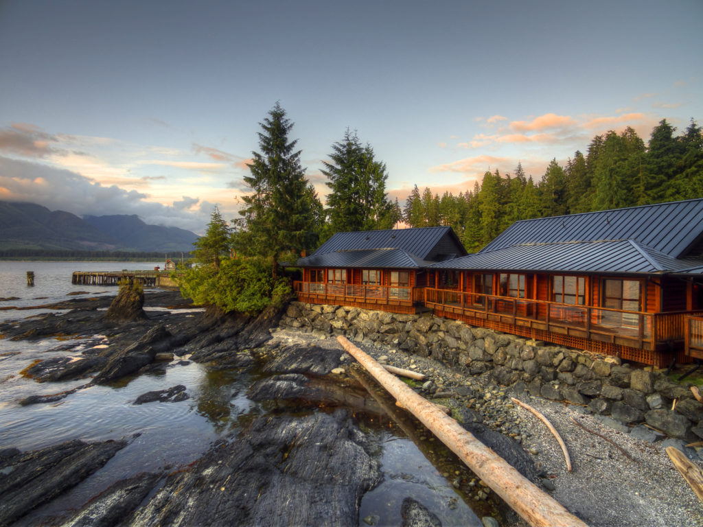 The Wild Renfrew Cottages, on Vancouver Island.