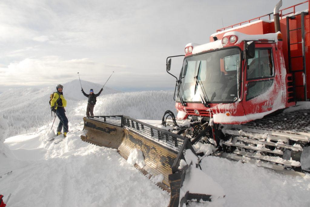 $10 cat-skiing on Mt. Kirkup at RED Mountain Resort.