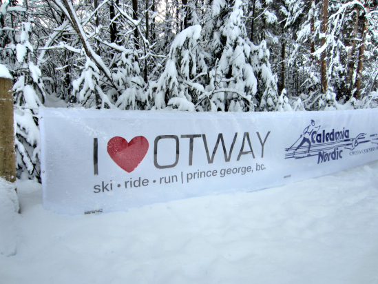 Otway Nordic Ski Center in Prince George