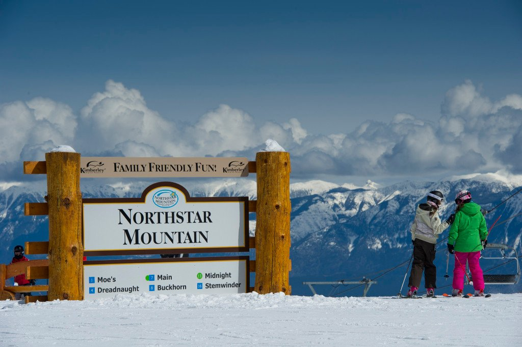 View from Northstar Mountain at Kimberley Alpine Resort