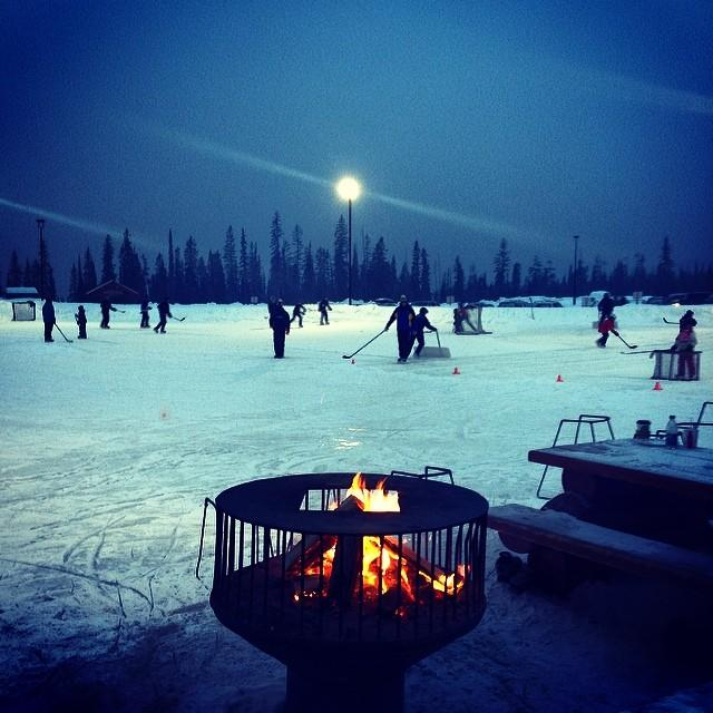 Big White Ski Resort ice hockey
