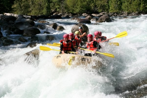 Rafting the Nahatlatch River in Boston Bar