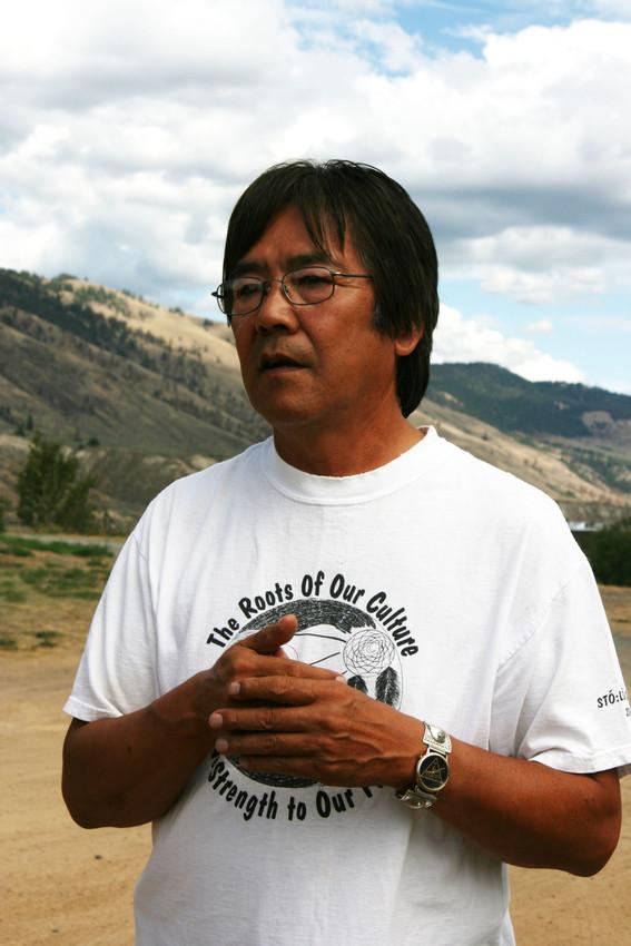 Dan Saul, Director of Secwepemc Museum and Heritage Park, Kamloops.