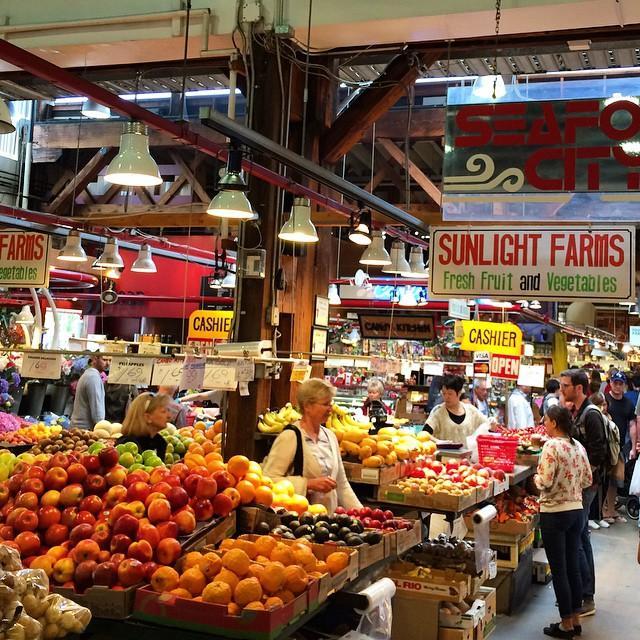 The Granville Island Public Market, Vancouver