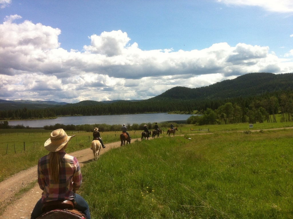 Campbell Hill Guest Ranch near Kamloops