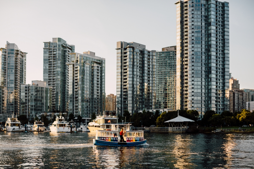 Aquabus in False Creek | Tanya Goehring