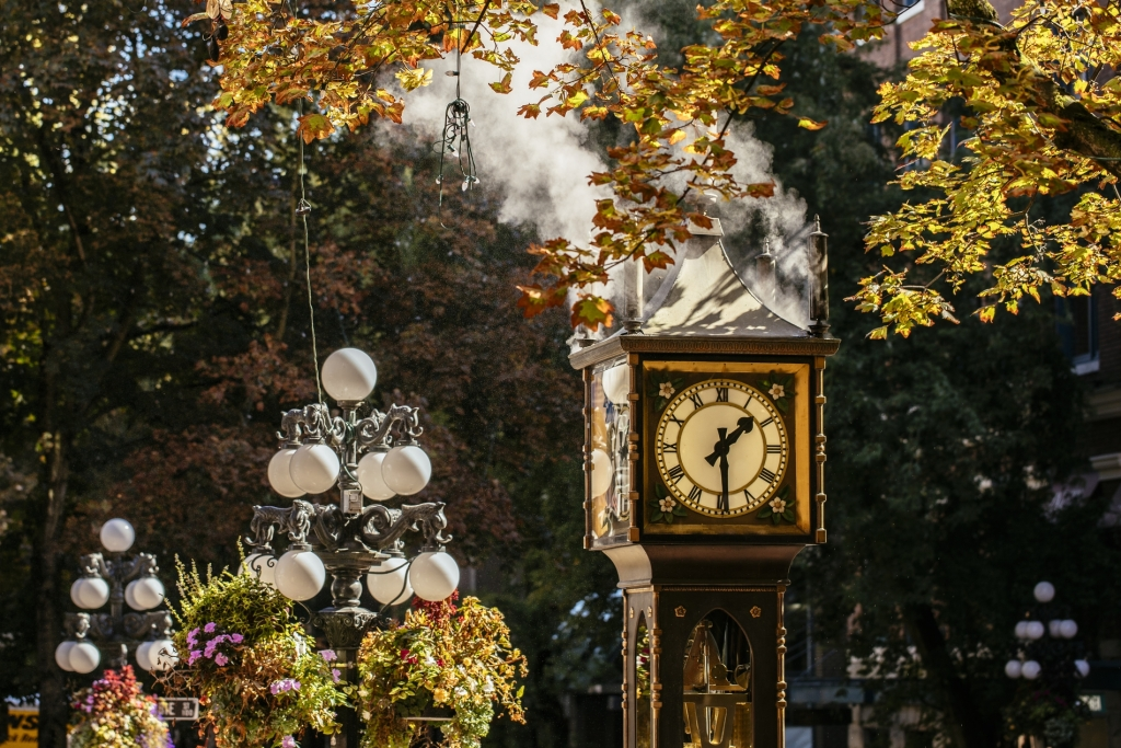 Steamclock in Gastown | Nelson Mouellic