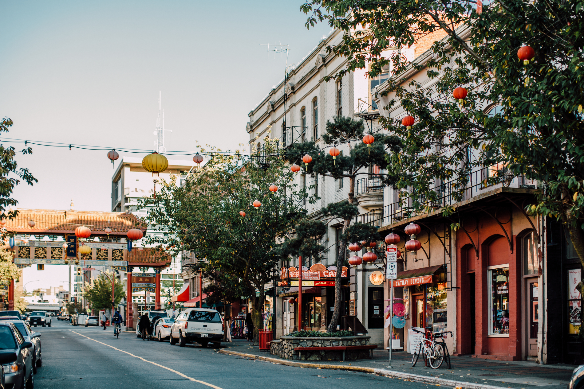 Gate of Harmonious Interest in Chinatown | Tanya Goehring