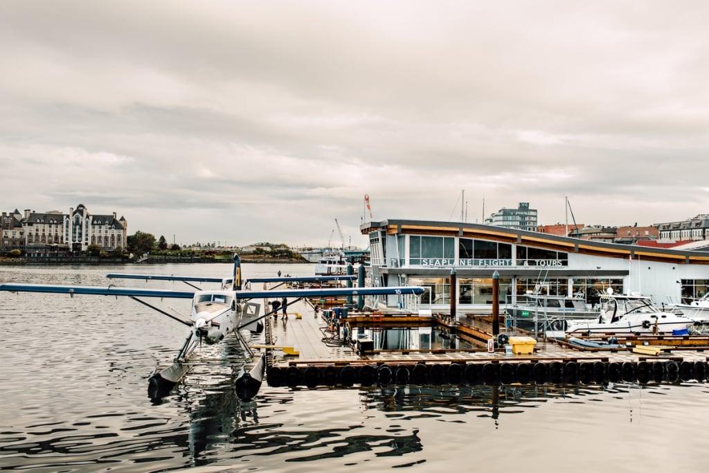 Victoria harbour seaplanes | Tanya Goehring